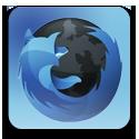 Blue, Firefox icon