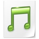 paper, document, music, file icon