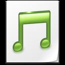 paper, document, music, file icon