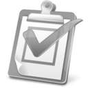 task,report,disabled icon