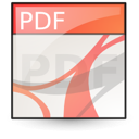 document, file, adobe, pdf icon