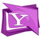 yahoo, buzz, logo, social, messenger icon
