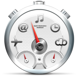 white, dashboard icon