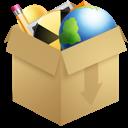 Box, Inventory, Wood icon