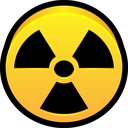 dangerous, alert, radioactive, danger, hazard icon