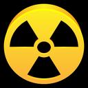 dangerous, alert, radioactive, danger, hazard icon