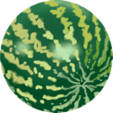 water melon, melon, food, water, fruit icon