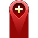 pin, add, location icon
