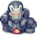 war, machine icon