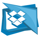 folder, cloud, box, dropbox, social icon
