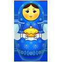 Big, Blue, Matreshka icon