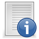 document, text, file, readme icon