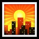 City Icon Apple Color Emoji Pack Icon Sets Icon Ninja