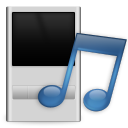 music, portable, player icon