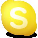 away, skype, contact icon