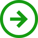 trend, positive, stagnant, right, direction icon