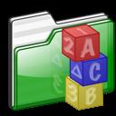 folder kids icon
