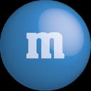 chocolate, color, blue, colour, m&m icon