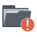 notification,folder icon