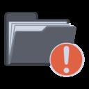 notification,folder icon