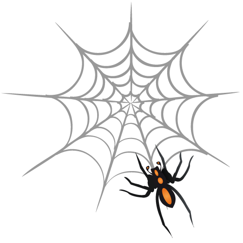 web, spider icon