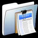 smooth, folder, paper, document, graphite, file icon