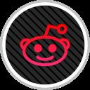 reddit, online, media, social icon