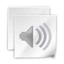 sound, voice, clipping icon