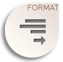 format justify right icon