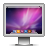 Aurora, Screen, Snowleopard icon