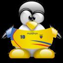 penguin, animal, ecuador icon
