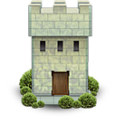 Castle, Fortress, Tower icon