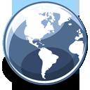 Browser, Earth, Globe icon