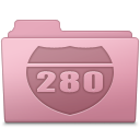 Route Folder Sakura icon