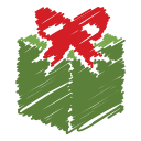 gift, box, scribble, surprise, christmas, present, icon
