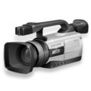 Camcorder inactive icon