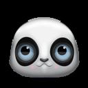 panda, animal, bear icon