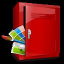 locker,art,supply icon