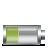 horizontal, 40percent, battery icon