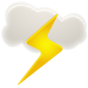 thunder,weather icon