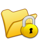 folder,yellow,locked icon