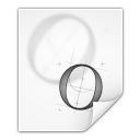 mimetypes application x font otf icon