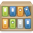 applications libraries icon