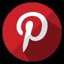 media, shop, ecommerce, online, pinterest, social, shopping icon