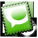 stamp, technorati icon