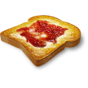 Toast marmalade icon