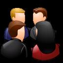 Groups Meeting Light icon
