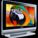 parrot, nvtv, plazma, bird, monitor, view icon