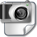 camera, file, image icon