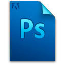 photoshop, file, document, adobe icon